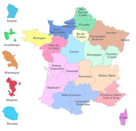 Les départements sont eux délimités par des tracés grisés à l'intérieur de la région. Kartable | 3ème : Géographie Spécifique - Exercices ...