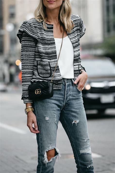 style  tweed jacket  fall fashion jackson