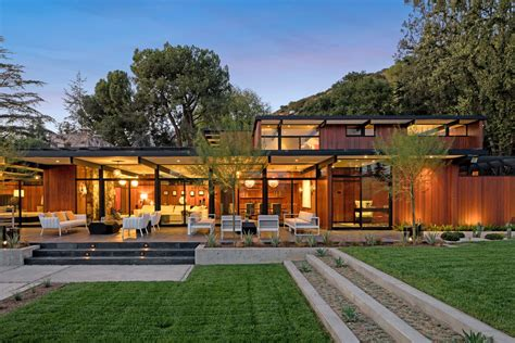 award winning midcentury residence  los angeles