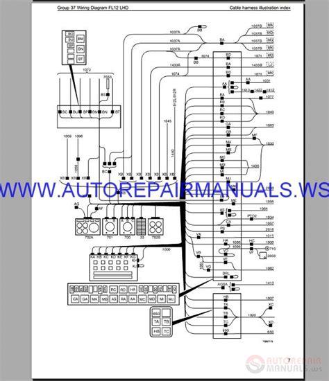 volvo fl12 lhd trucks wiring diagram service manual auto repair manual forum heavy equipment