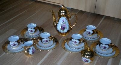 bavaria porzellan gold bavaria kaffeeservice 24 karat gold handarbeit bad breisig markt de 8469348