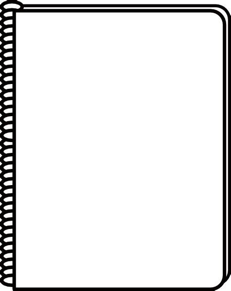 clip art notebook clipart