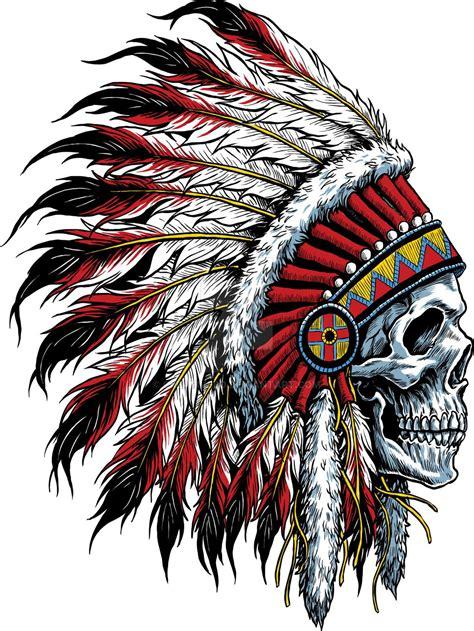 Indian Skull By Creativebddeviantartcom On @deviantart
