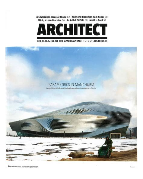 Dalian International Conference Center In Architect
