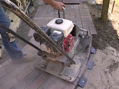 how to install pavers how to install a paver sidewalk how tos diy