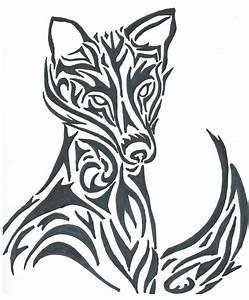 Tribal fox by GL1TCHKitty on DeviantArt