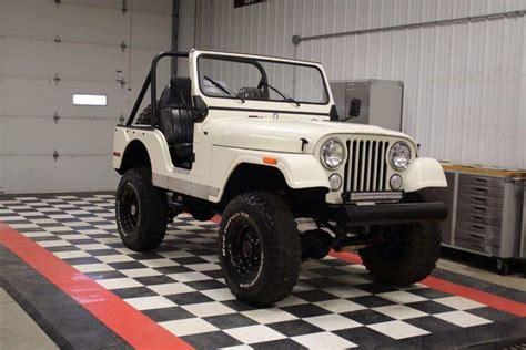 Best 1970 White Jeep Wrangler Cj5 For Sale In Erie