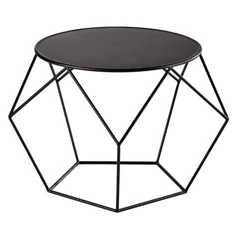 table d appoint maison du monde table basse ronde en m 233 tal noir en 2019 astuces table basse ronde table basse et mobilier
