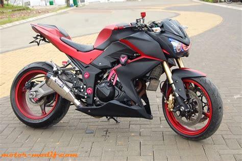 Modif Z250 by Motor Sport Foto Modifikasi Kawasaki Z250 Mantap Terbaru 2014
