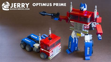 lego optimus prime g1 transformer moc 78
