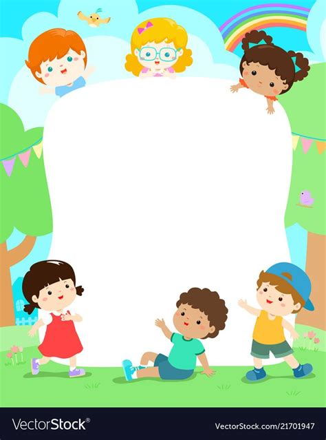 blank template character smiley kid vector illustration