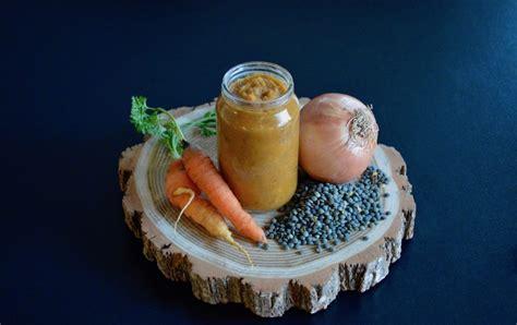 cuisiner lentilles vertes recette de mouliné de lentilles carottes et oignon pour
