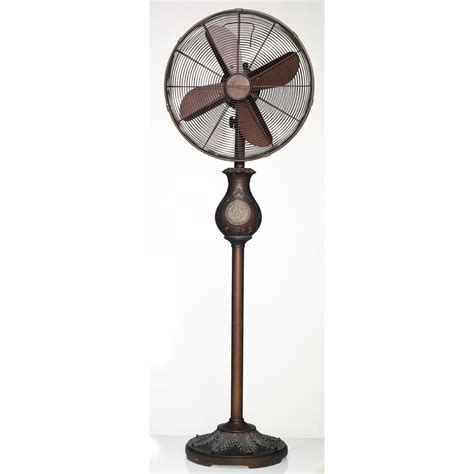 Shop Deco Breeze 16 In 3 Speed Oscillating Stand Fan At