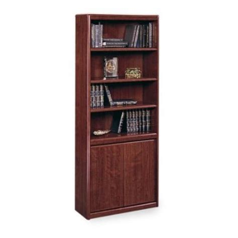 Sauder Cornerstone Bookcase With Doors Walmart Com