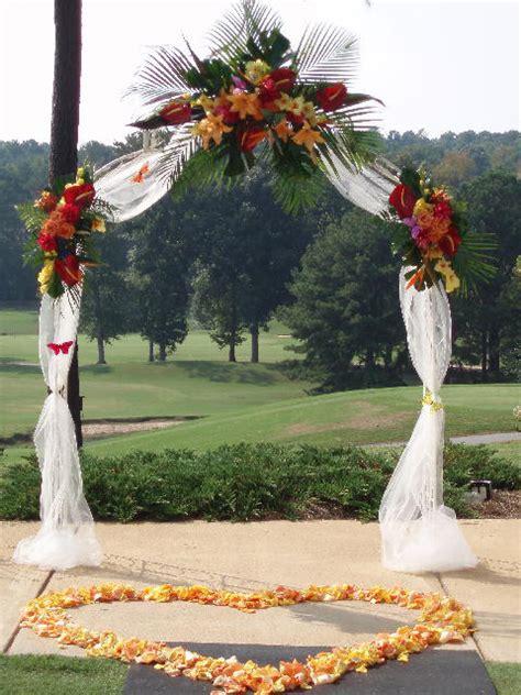 arch wedding wedding accessories ideas