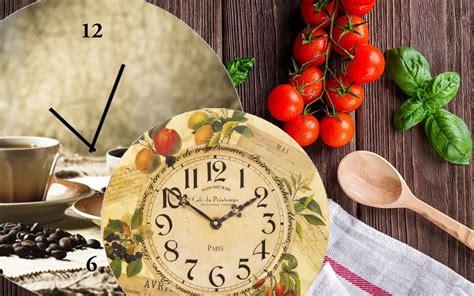 horloges de cuisine horlogerie4you fr gt gt l horloge de cuisine chez