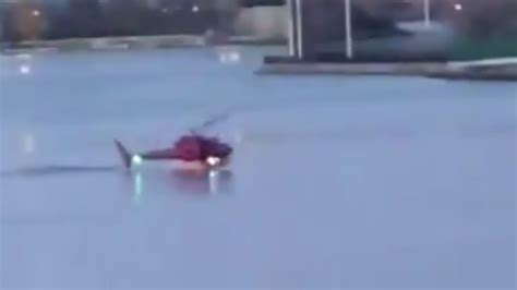 Five Dead After Helicopter Crashes Into New York's East River