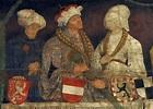 ALBERT III OF HABSBURG DUKE OF AUSTRIA AND HER TWO WIFES ...