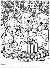 Coloring Christmas Pages Books Holiday Cute Heavy Metal Print Puppy Little Animal Indie Adult Dog Sheets Printable Mood Cleverpedia Colorear sketch template