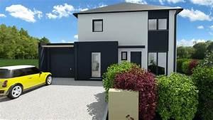 Belle Maison Moderne : maison moderne 4 chambres avec garage mtc maisons individuelles ~ Melissatoandfro.com Idées de Décoration