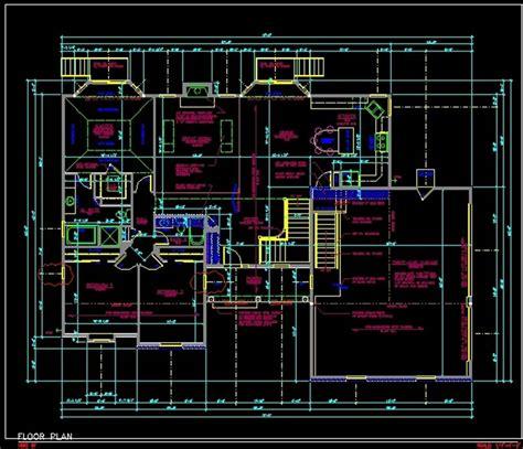 autocard drawing buildind layout autocad house plan tutorial   draw floor plan lilyasscom