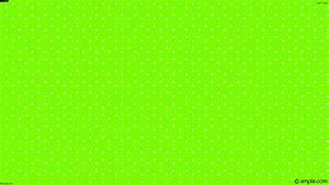 Wallpaper white polka dots green hexagon #ffffff #7cfc00 ...