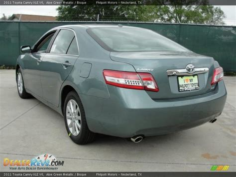 2011 Toyota Camry V6 by 2011 Toyota Camry Xle V6 Aloe Green Metallic Bisque