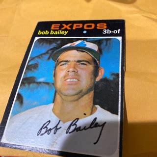 February 27, 1942 in wisbech, cambridgeshire, england. Free: 1971 topps bob Bailey baseball card - Sports Trading ...