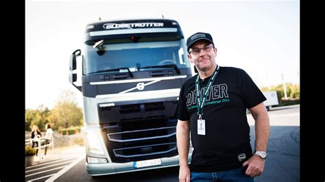 volvo trucks follow british driver tommy walton