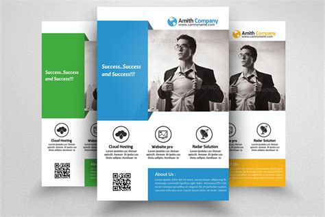 Course Brochure Template by Business Flyer Template Flyer Templates