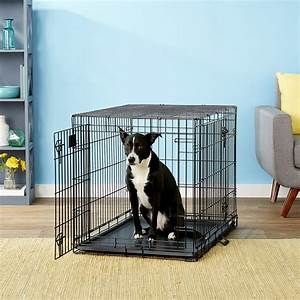 Midwest, Lifestages, Double, Door, Dog, Crate, 36-in