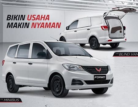 Wuling Formo Modification by Harga Wuling Formo Blind 1 2l Promo Kredit Wuling