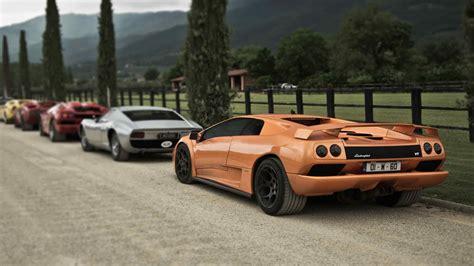 Lamborghini Diablo Acceleration Sound