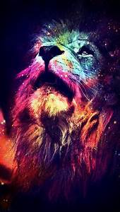 Abstract Lion iPhone 5 Wallpaper (640x1136)