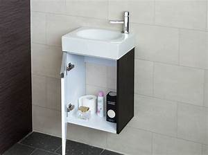 Gäste Wc Möbel : badm bel set g ste wc ice spiegel waschbecken ~ Michelbontemps.com Haus und Dekorationen