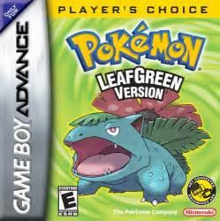 pokemon leaf green u gba