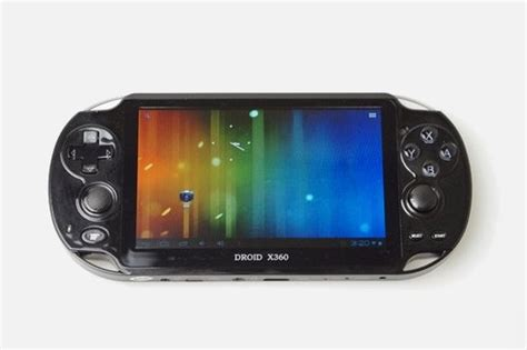 android gaming droidx360 playstation vita like android gaming device