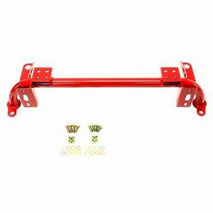Bmr Mustang Tubular Radiator Support Red  05