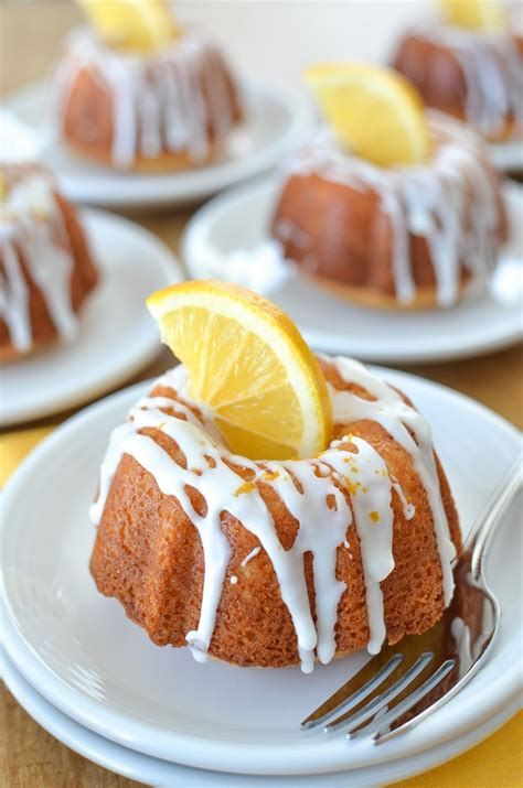 Pssst….make sure you should at for my cake bundt molds i used this nordic ware platinum collection anniversary bundtlette pan. Mini Lemon Bundt Cakes - Simply Whisked