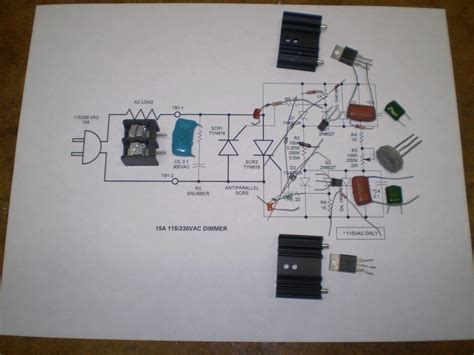 Scr Phase Control Speed Dimmer