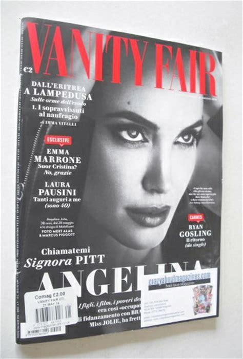 italian vanity fair magazine cover 21 may 2014