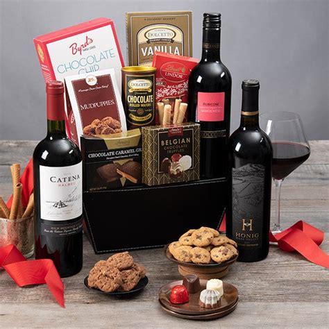 christmas wine gift basket  gourmetgiftbasketscom
