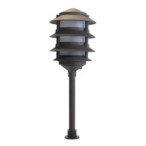 landscape lighting low voltage 4 tier pagoda