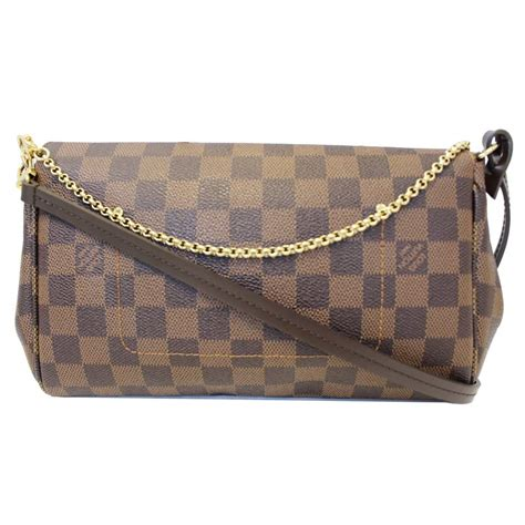 louis vuitton favorite mm damier ebene crossbody bag