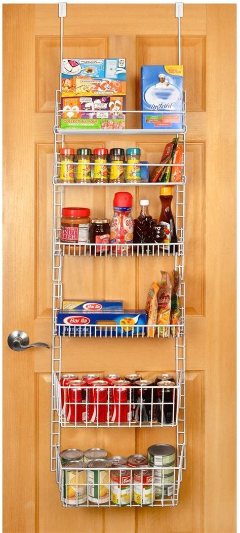 Kitchen Pantry Rack by Pro Mart Dazz Deluxe The Door Adjustable