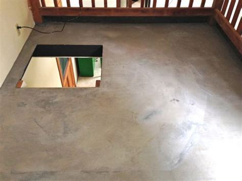 DIY Concrete Floor   Cheap Home DIYs   Design Mom