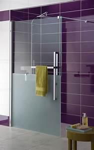 douche a l39italienne 12 modeles tendance cote maison With porte de douche coulissante avec revetement de sol stratifié pour salle de bain