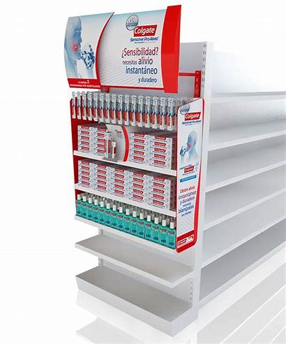 Point Colgate Venta Punto Purchase Display Merchandising