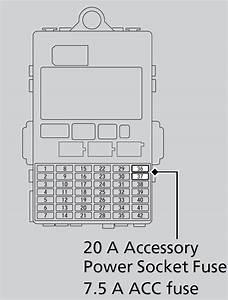 2010 Honda Fit Fuse Diagram