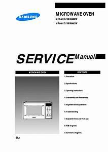 Samsung Mr5481g Xaa Service Manual Download  Schematics